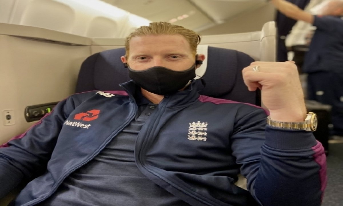 TeluguStop.com - 'see You Soon': Stokes Heads To India Ahead Of Test Series