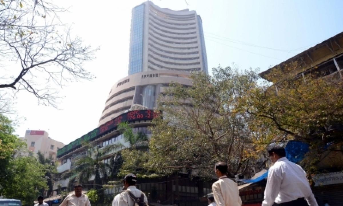 Sensex Down 400 Points, Banking Stocks Fall-TeluguStop.com