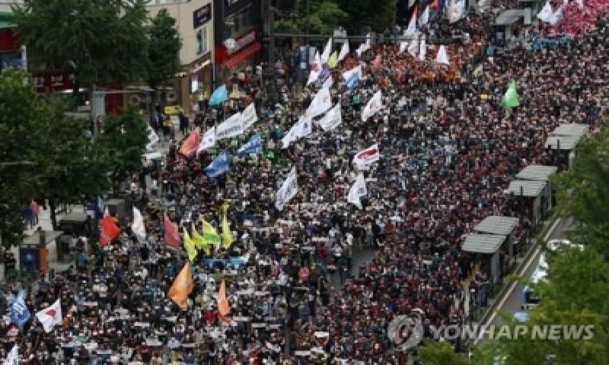 Seoul City Govt Bans Labour Group's Planned Street Rallies This Month – International,politics-TeluguStop.com