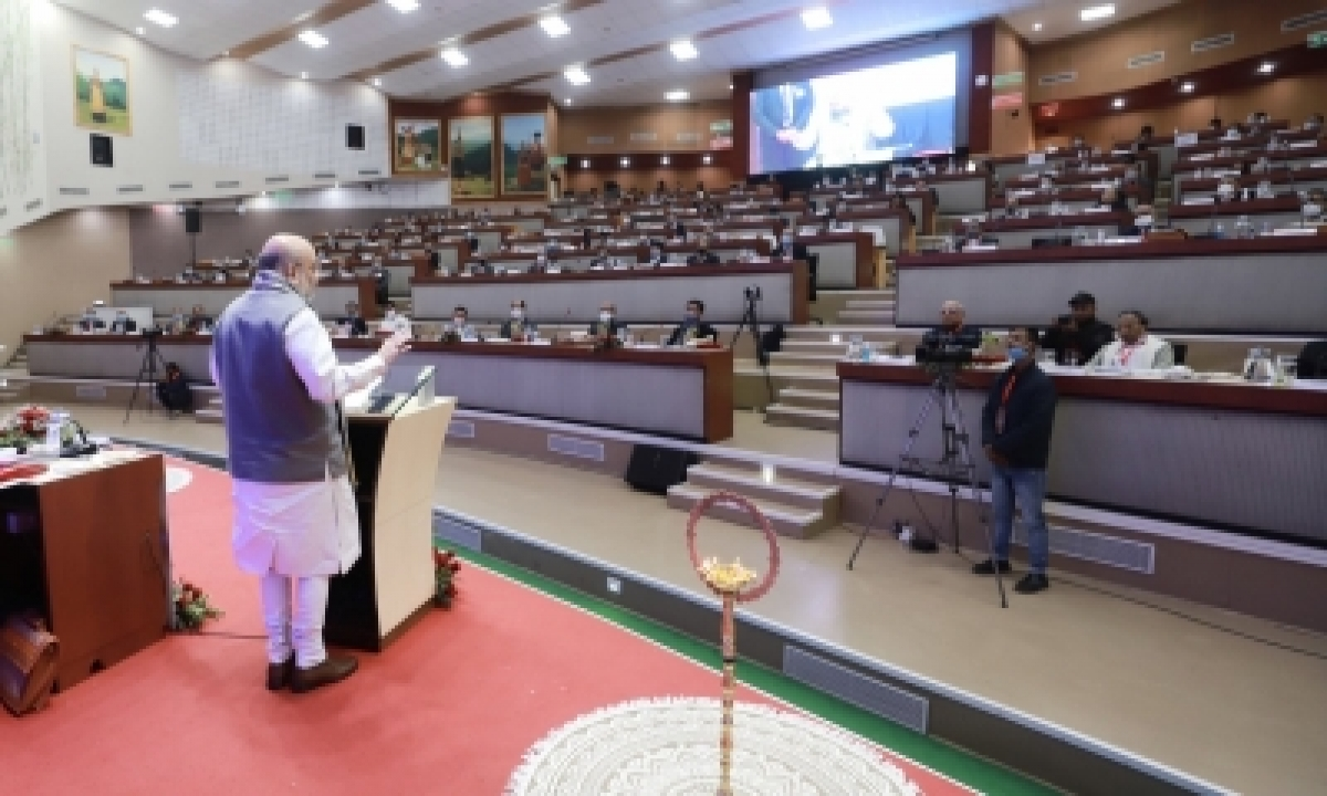Shah Launches Ayushman Capf Scheme For 28l Lakh Central Force Personnel-TeluguStop.com