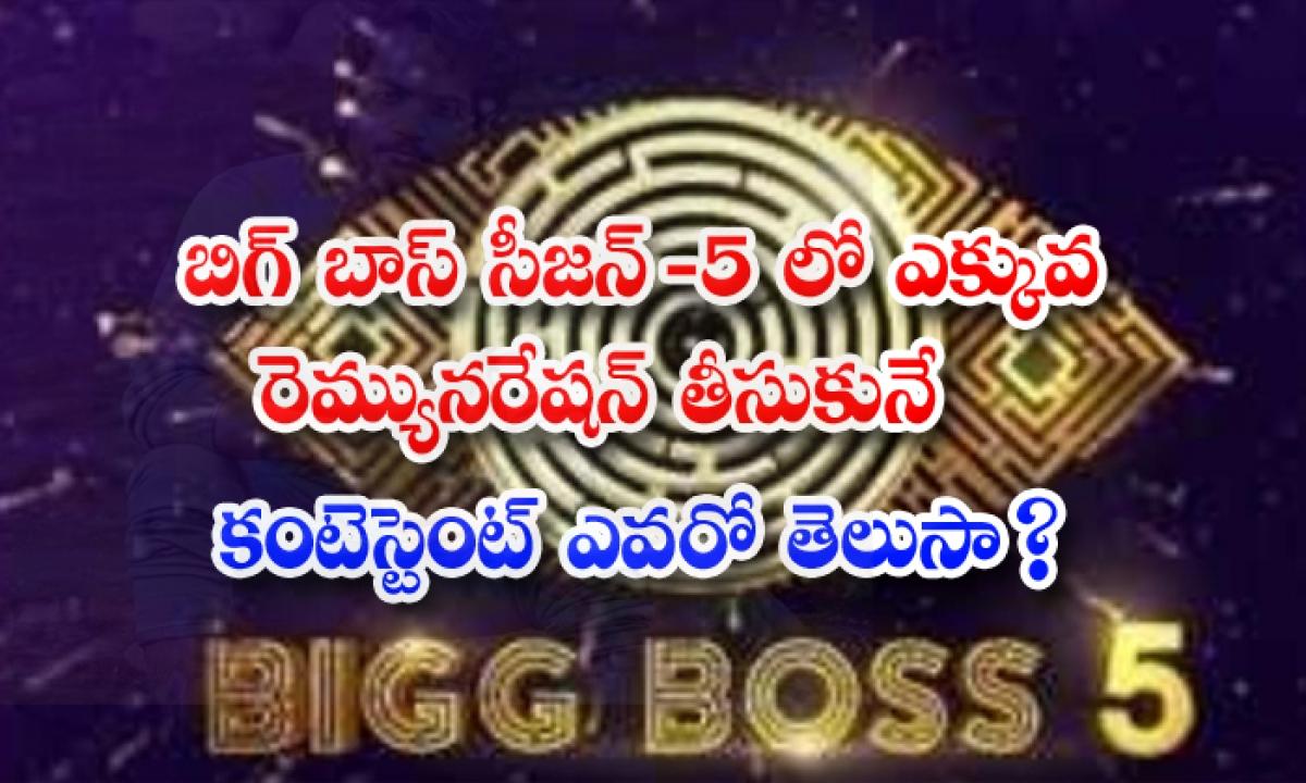 Shanmukh Jaswanth Highest Remuneration For Bigg Boss Telugu 5-బిగ్ బాస్ సీజన్-5లో ఎక్కువ రెమ్యునరేషన్ తీసుకునే కంటెస్టెంట్ ఎవరో తెలుసా-Latest News - Telugu-Telugu Tollywood Photo Image-TeluguStop.com