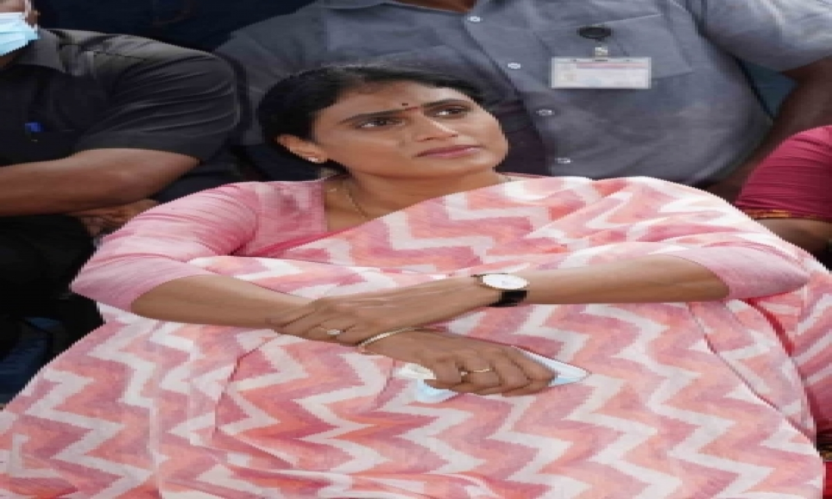 Sharmila Detained During Weekly Fast Over Unemployment-General-English-Telugu Tollywood Photo Image-TeluguStop.com