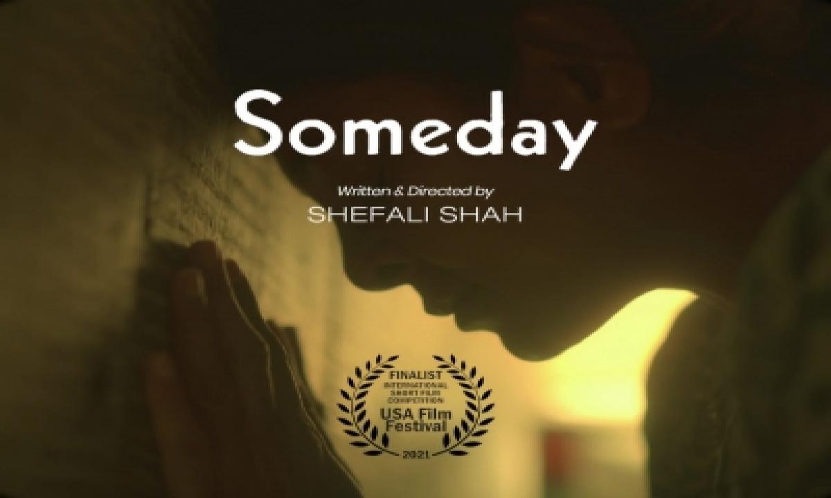 Shefali Shah's Directorial 'someday' Selected For 51st Usa Film Festival-TeluguStop.com