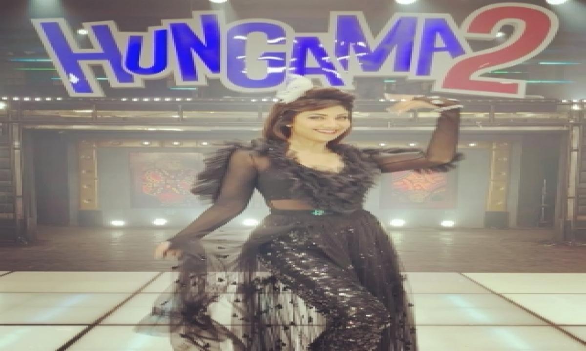 Shilpa Shetty, Paresh Rawal Shoot For Title Track Of 'hungama 2'-TeluguStop.com