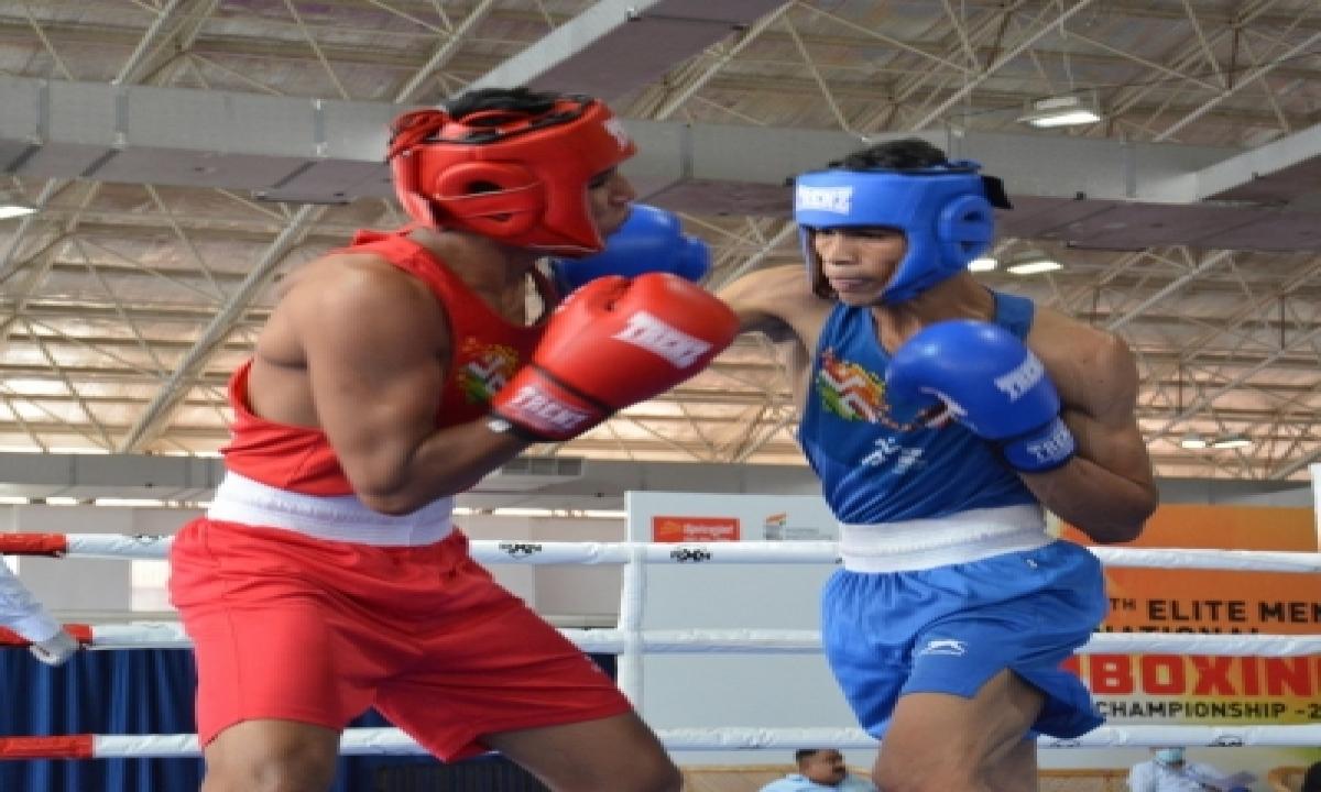 Shiva Thapa Storms Into Semis At Elite Men's National Boxing-Latest News English-Telugu Tollywood Photo Image-TeluguStop.com