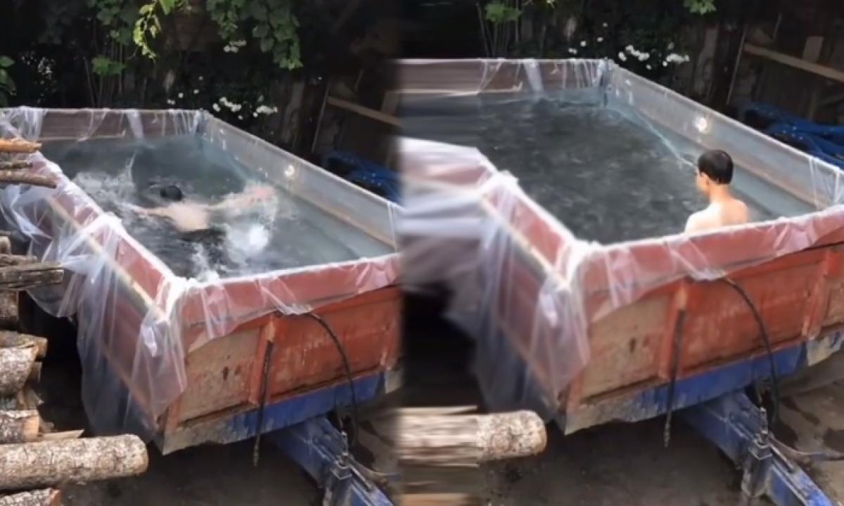 Viral Video If You Know His Creativity You Should Be Shocked-వైరల్ వీడియో.. ఈయన క్రియేటివిటీ తెలిస్తే షాక్ అవ్వాల్సిందే..-General-Telugu-Telugu Tollywood Photo Image-TeluguStop.com