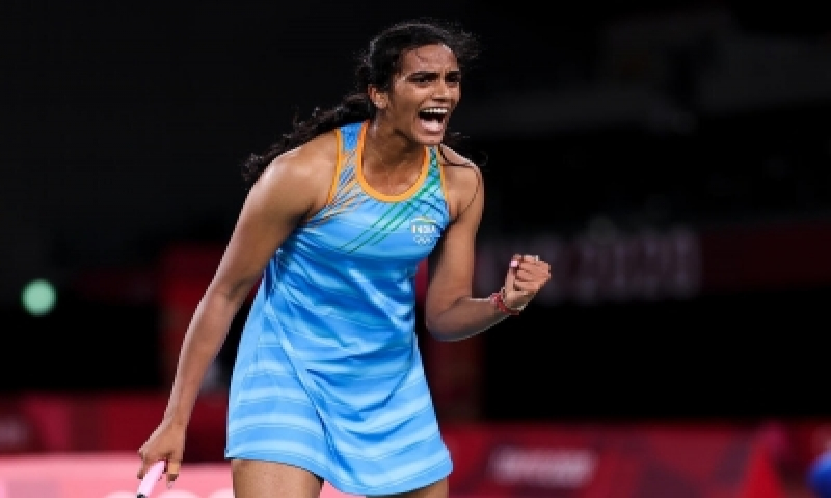 Sindhu Accorded Warm Welcome On Arrival In Delhi-TeluguStop.com