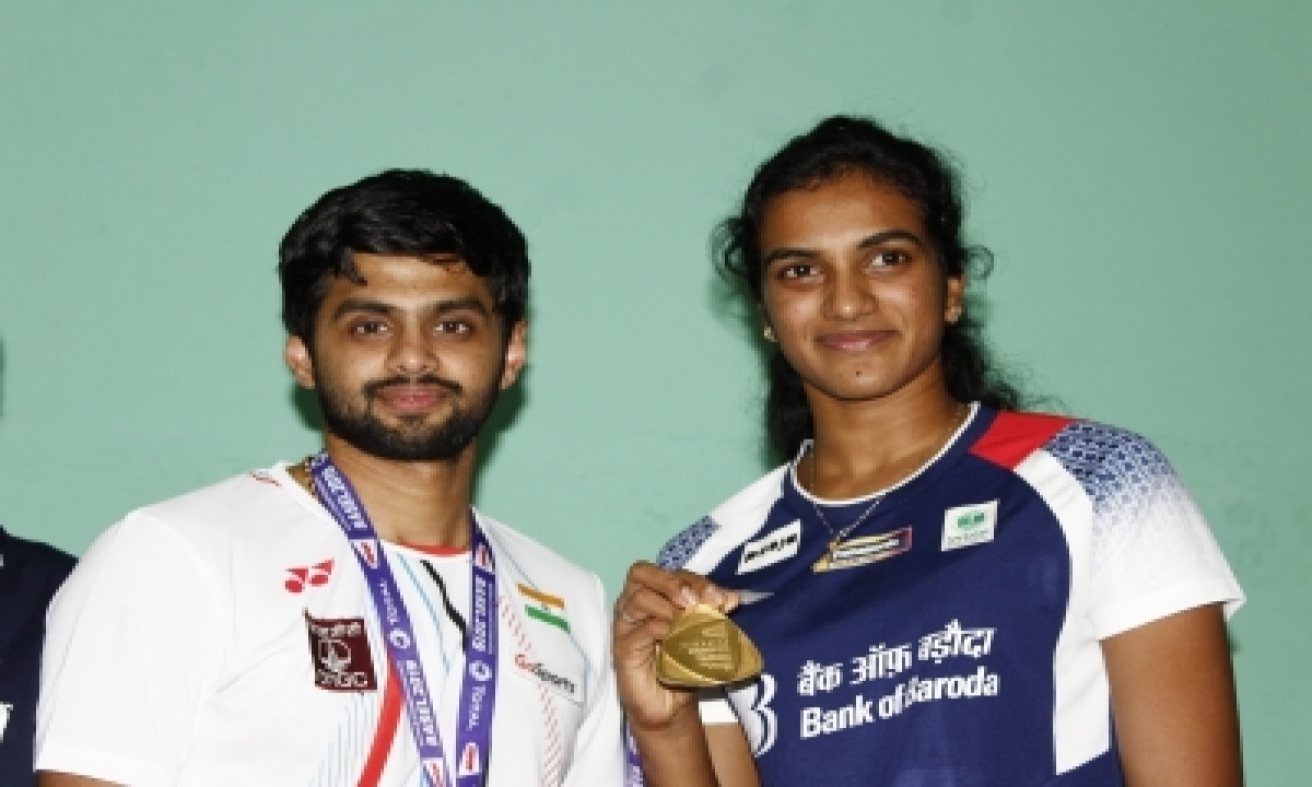 Sindhu, Praneeth And Tt Players Have First Training In Tokyo-TeluguStop.com