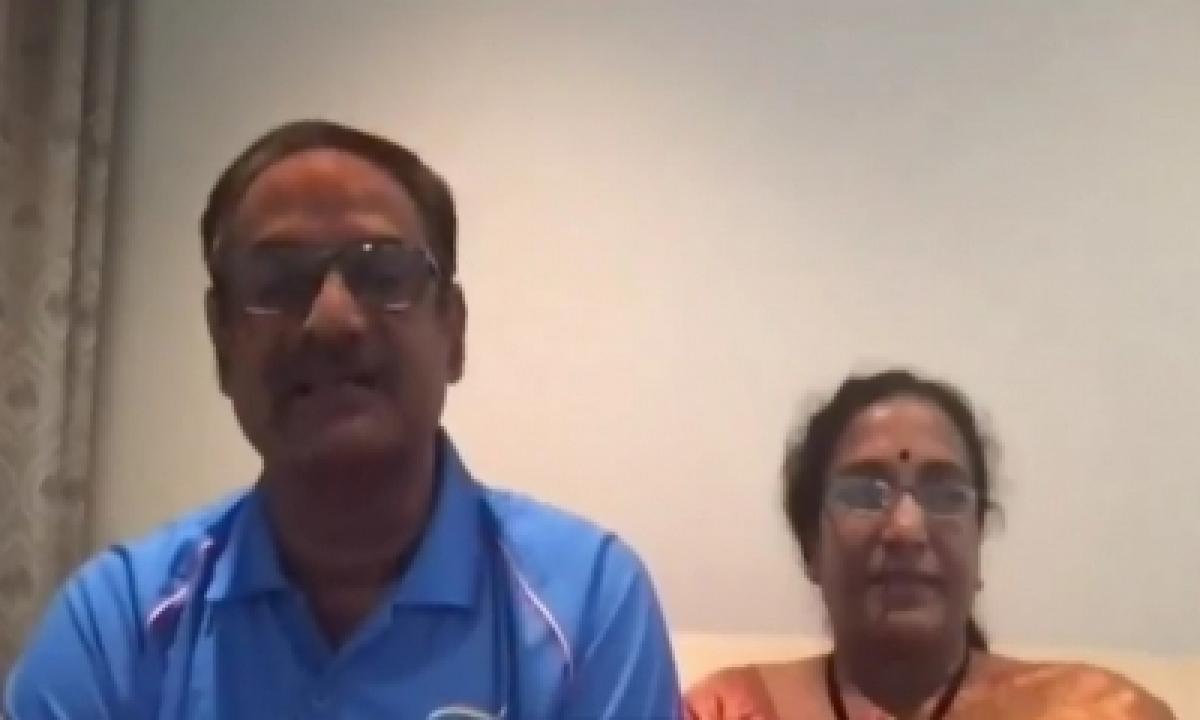 Sindhu's Parents Overjoyed, Proud On Olympic Glory-TeluguStop.com