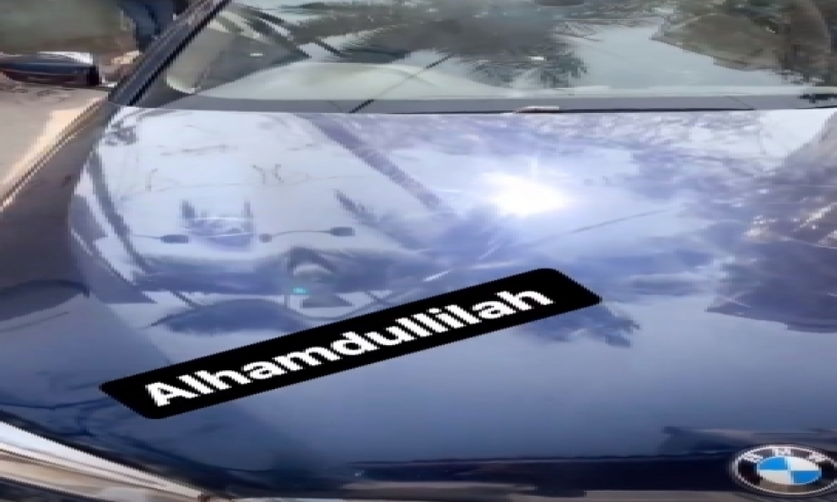 TeluguStop.com - Siraj Posts Video Of Driving A Bmw In Hyderabad