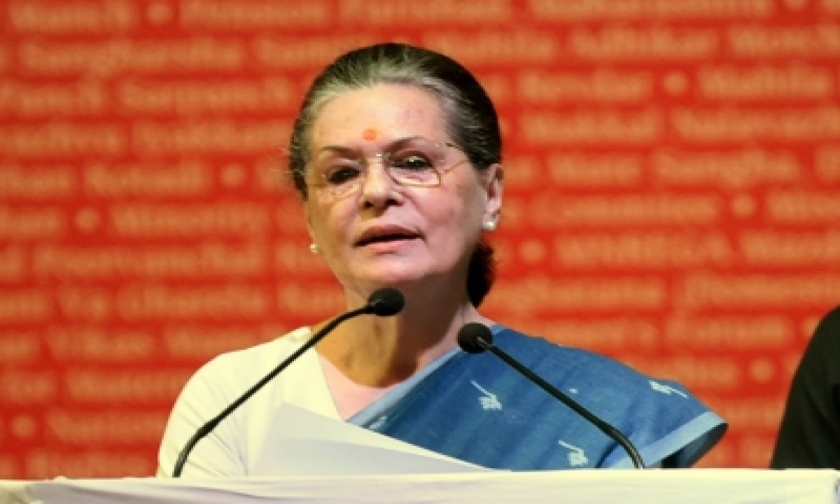 Sonia Calls Meet Of Party Gs & In-charges On June 24-TeluguStop.com