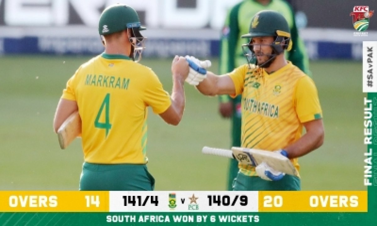 South Africa's Linde Stars As Hosts Beat Pakistan-TeluguStop.com