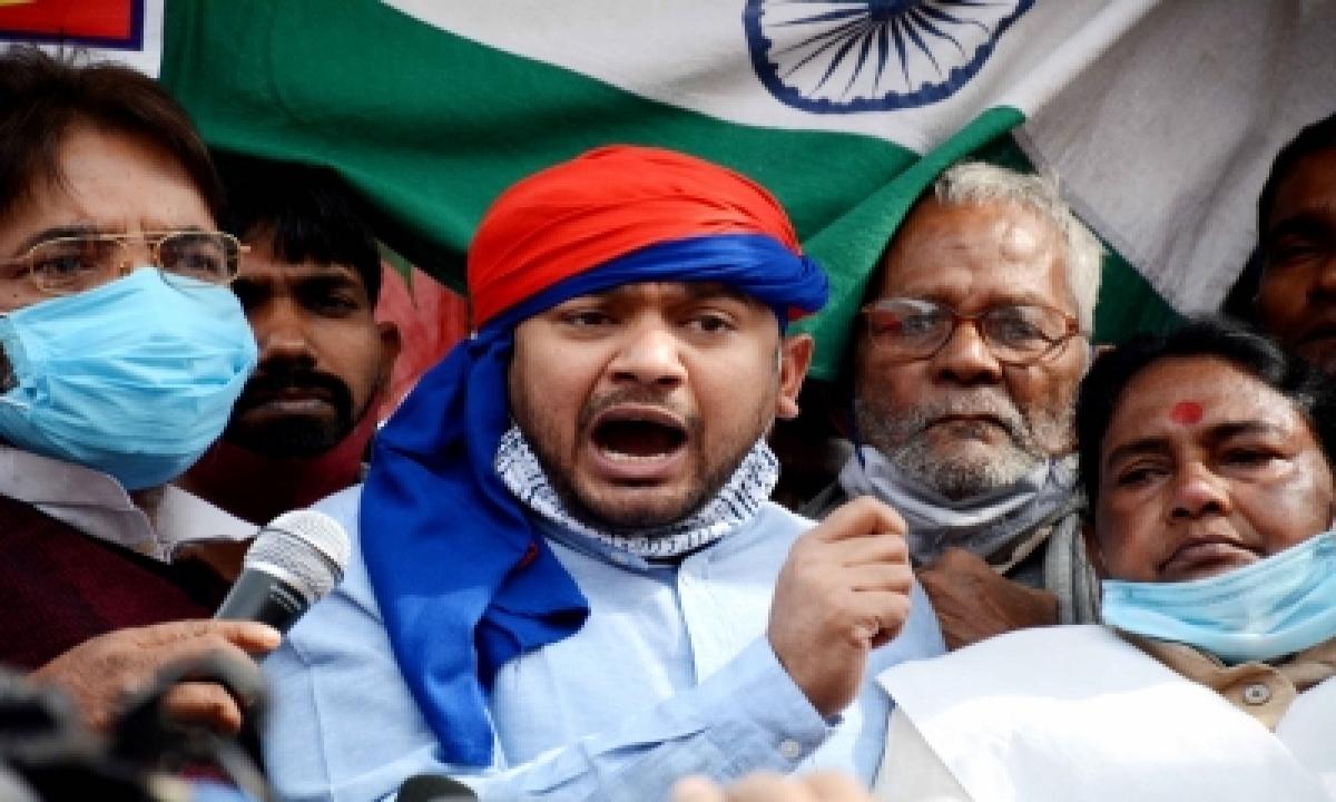 Speculation Rife Over Kanahiya Kumar Joining Cong, Aides Say Just Rumour-TeluguStop.com