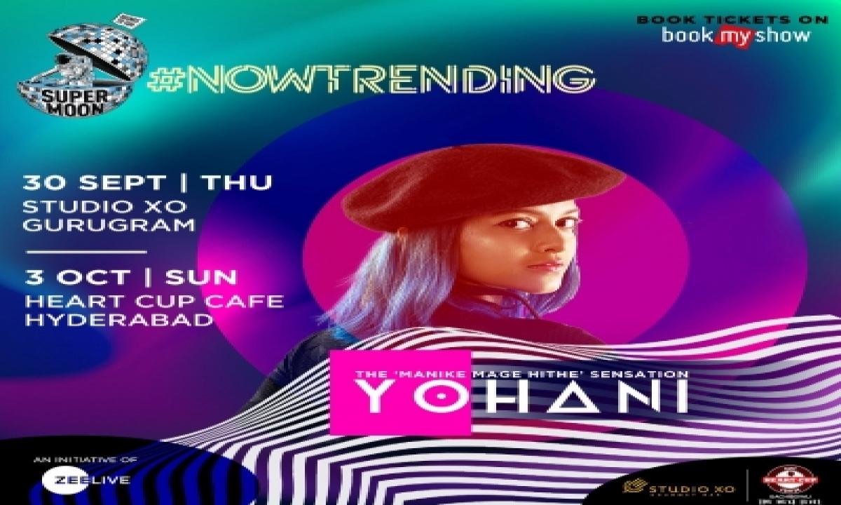 Sri Lankan Singer Yohani Of 'manike Mage Hithe' To Perform In India-TeluguStop.com