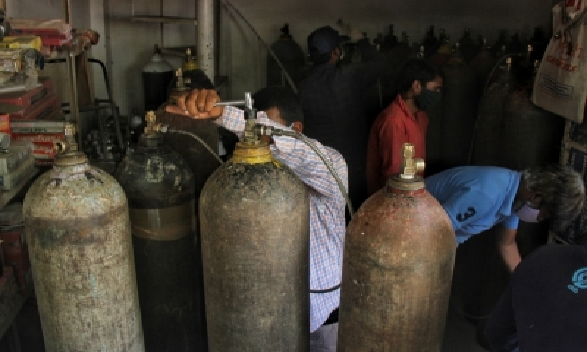 Steel, Oil Cos Become Lifeline With Ramped Up Oxygen Supplies For Covid Relief-TeluguStop.com