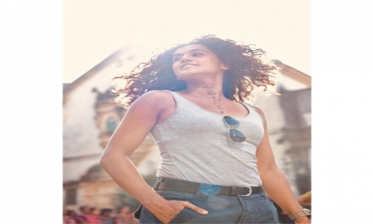 TeluguStop.com - Taapsee Has A 'flare In Hair Moment'