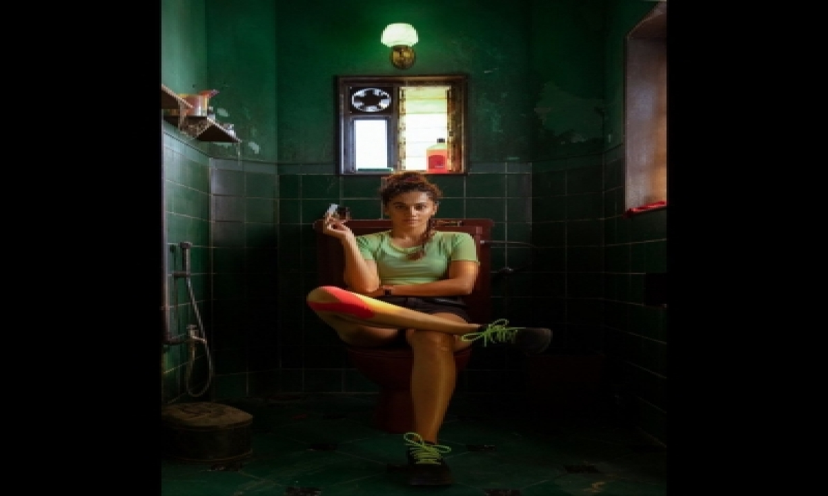 Taapsee Pannu Introduces Her New Avatar Savi In 'looop Lapeta'-TeluguStop.com