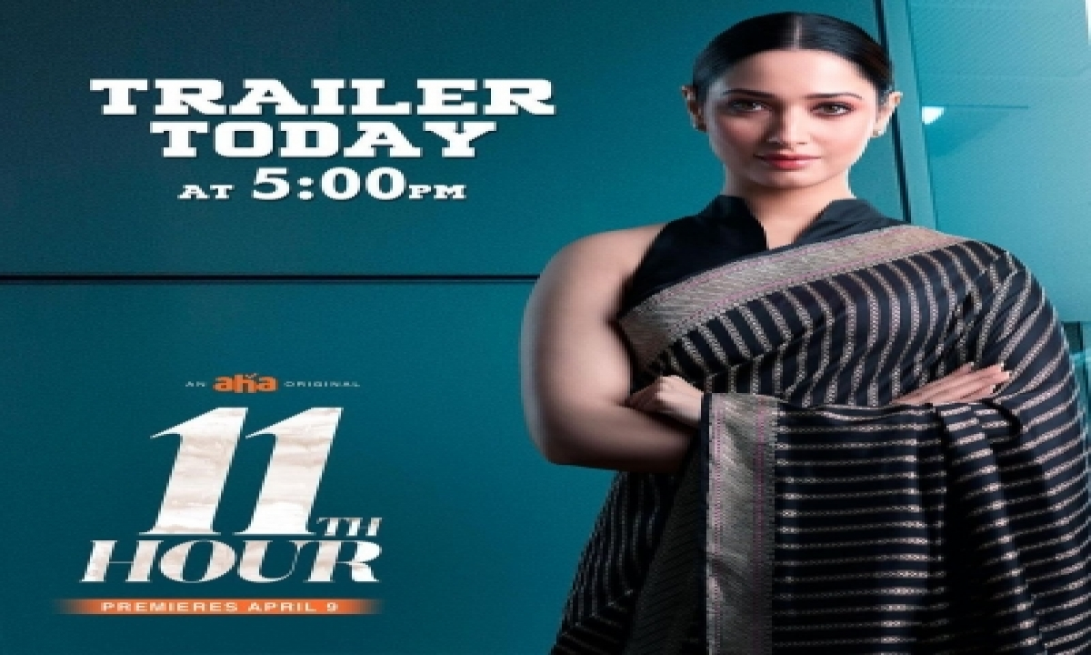 """Tamannaah On Returning Post Covid Recovery In Debut Series """"11th Hour""""-TeluguStop.com"""
