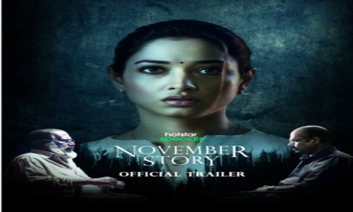 Tamannaah Plays Ethical Hacker In 'november Story', Says Role Was 'gratifying Experience'-TeluguStop.com