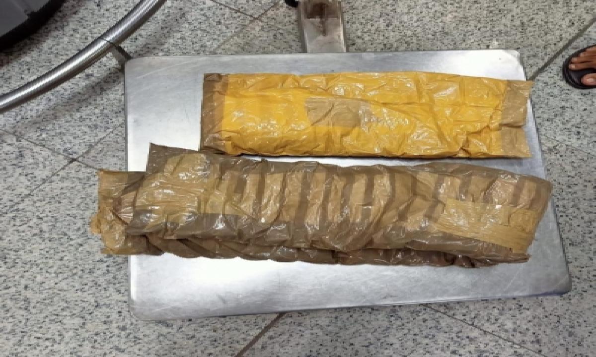 Tanzanian Held With 3 Kg Heroin At Hyderabad Airport-TeluguStop.com