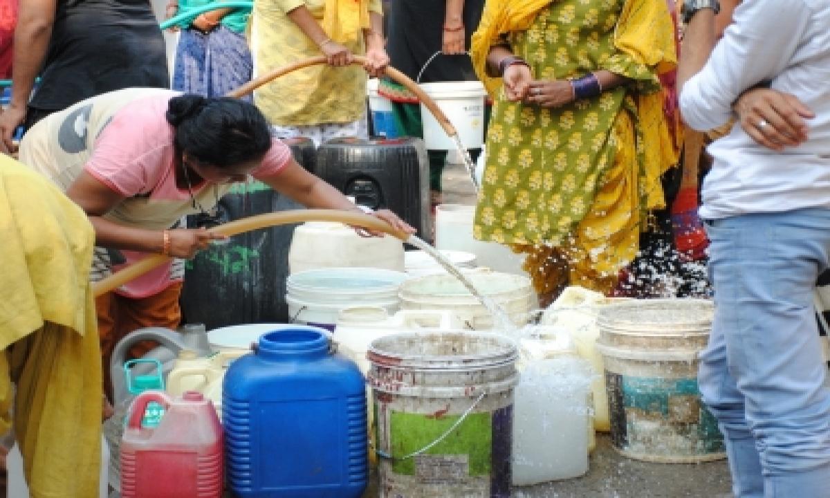 Tap Water Supply Reaches 66% Schools, 60% Anganwadi Centres-TeluguStop.com