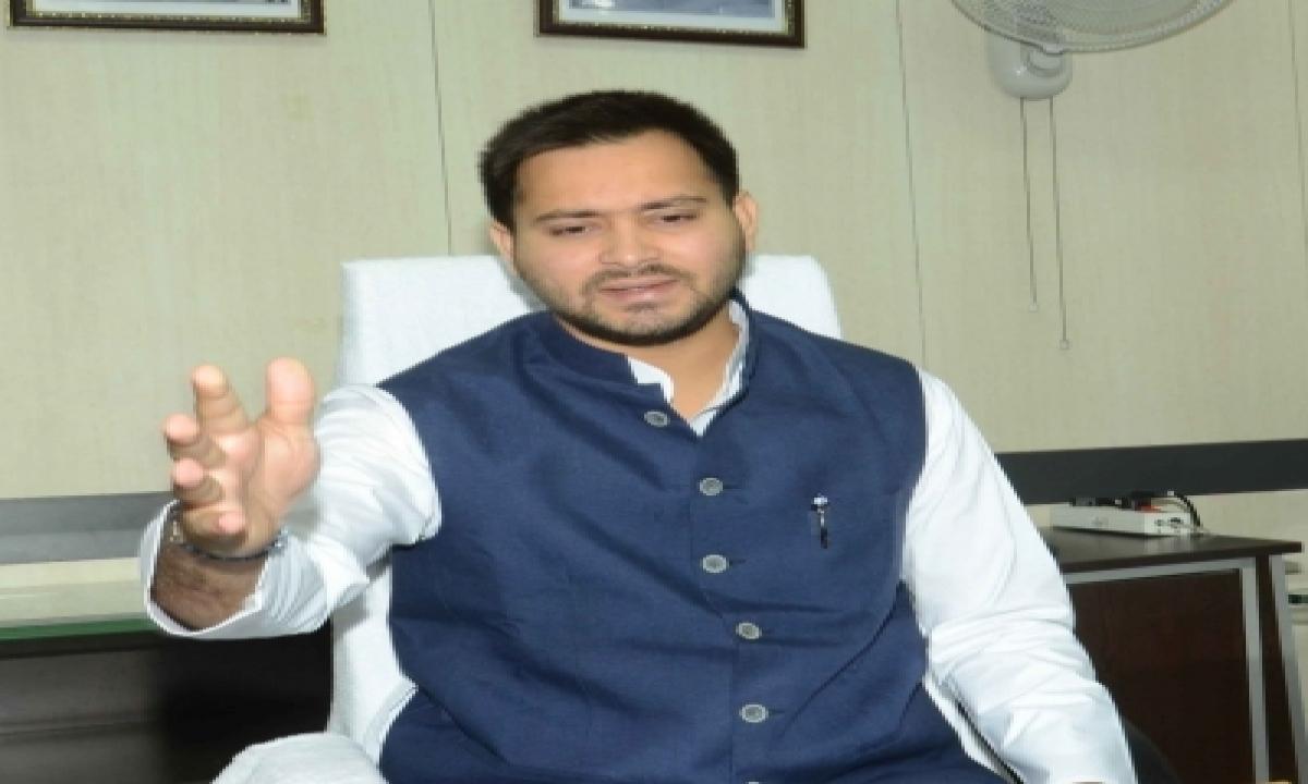TeluguStop.com - Tejashwi Writes To Nitish On Worsening Law And Order In Bihar