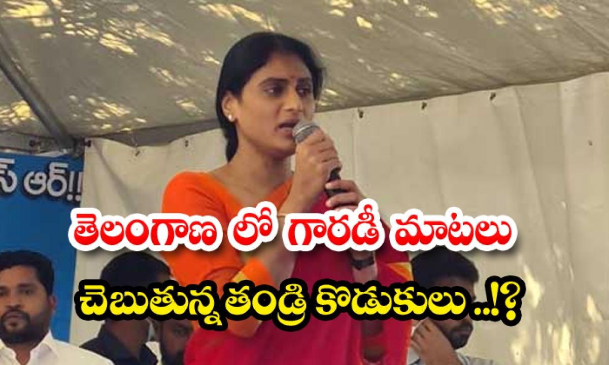 Ys Sharmila Key Comments On Kcr And Ktr-TeluguStop.com