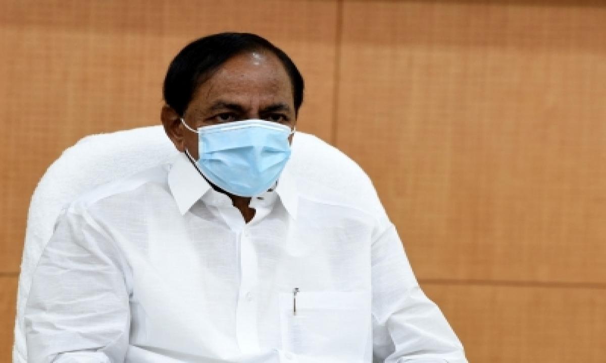 Telangana Cm Asks Police To Fine Those Not Wearing Masks-TeluguStop.com