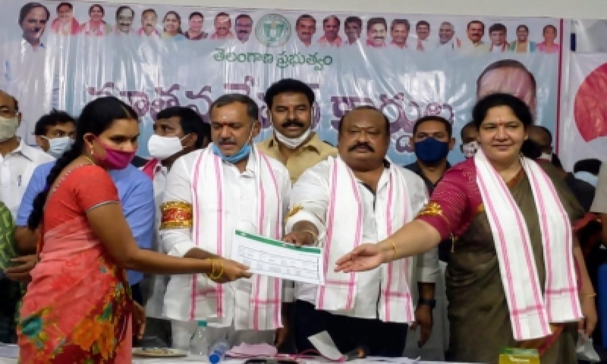 Telangana Distributes Over 3 Lakh New Ration Cards-General-English-Telugu Tollywood Photo Image-TeluguStop.com