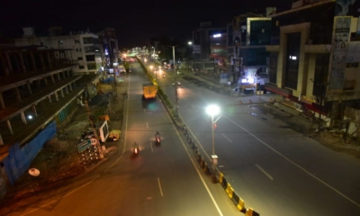 Telangana Extends Night Curfew Till May 8-TeluguStop.com