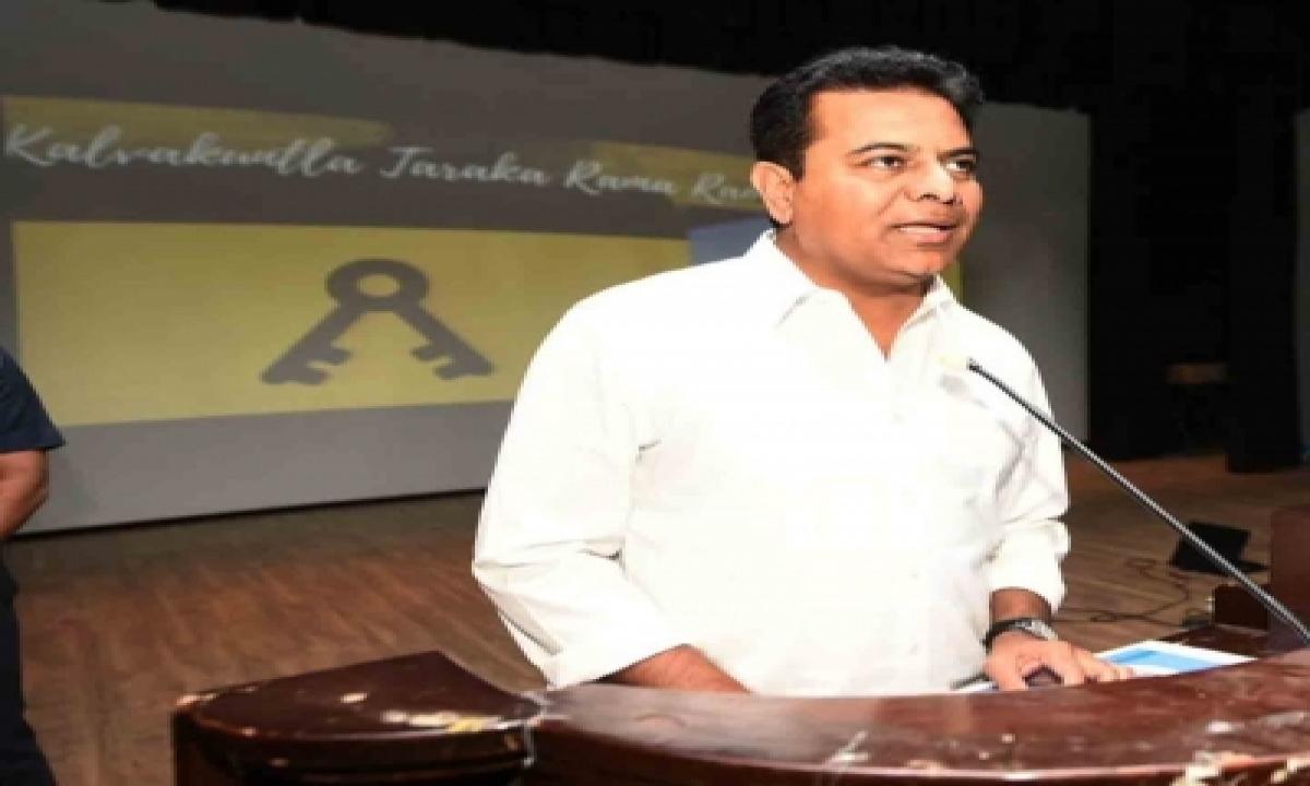 Telangana Outperformed National Growth Rate: Ktr-TeluguStop.com
