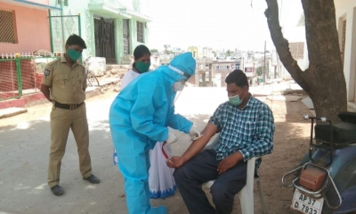 Telangana's Covid Tests Per Million Population Cross 2-lakh Mark-TeluguStop.com