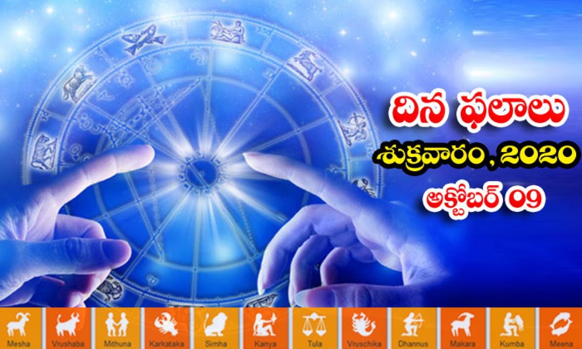 Telugu Daily Astrology Prediction Rasi Phalalu October 9 Friday 2020-TeluguStop.com
