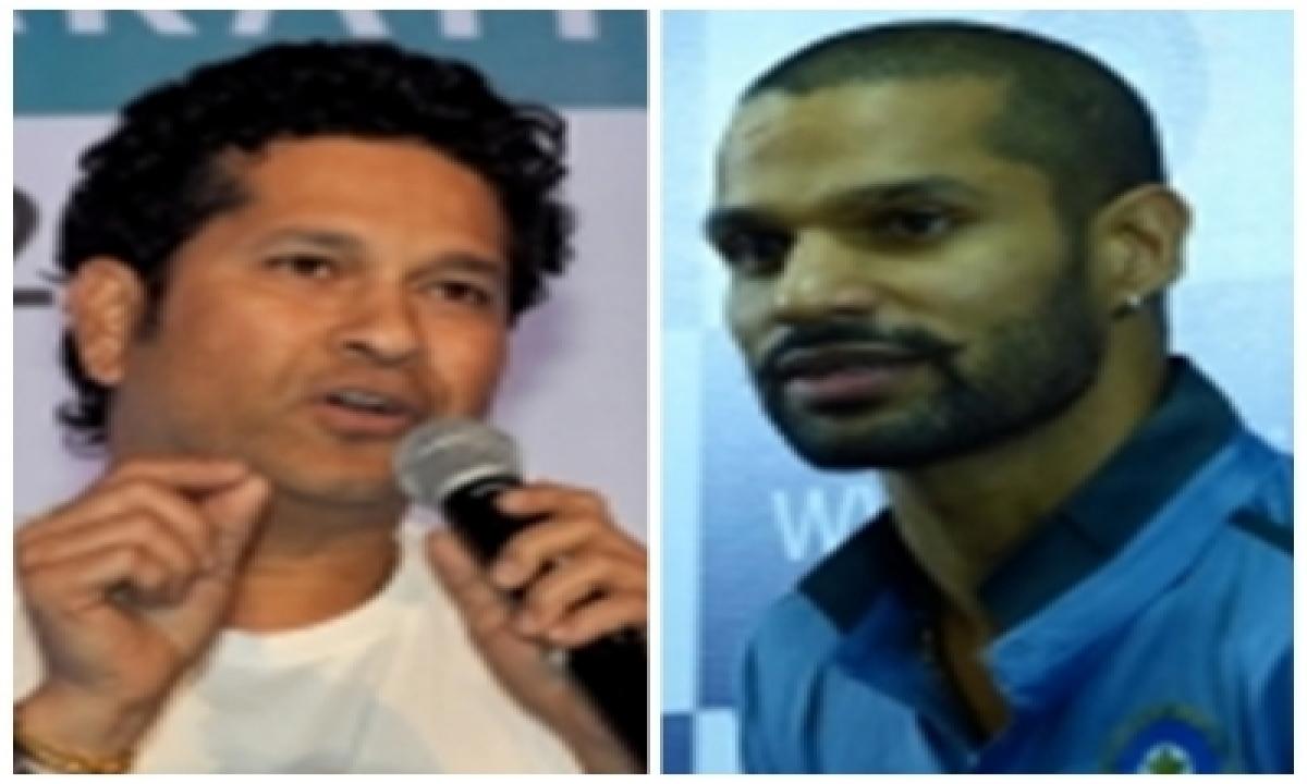 Tendulkar, Shikhar Dhawan Lavish Praise On Mirabai Chanu-TeluguStop.com