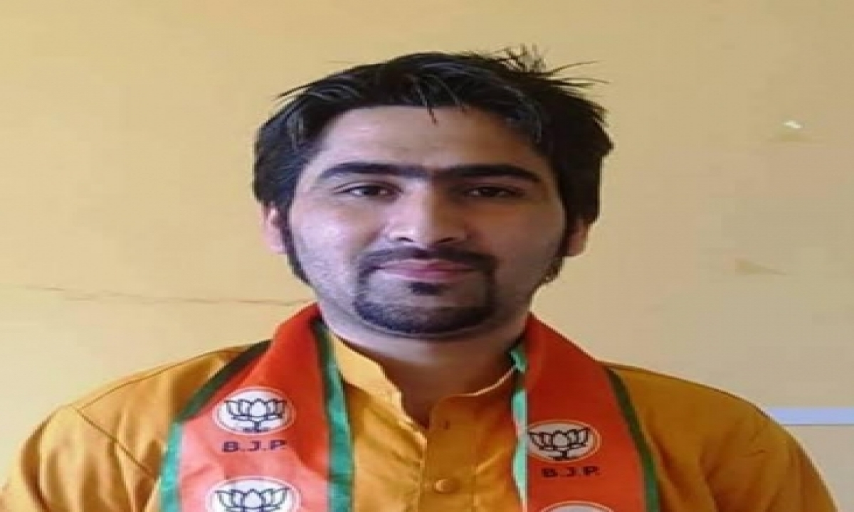 Terrorist Involved In Killing Of Kashmir Bjp Leader Slain In Gunfight-TeluguStop.com