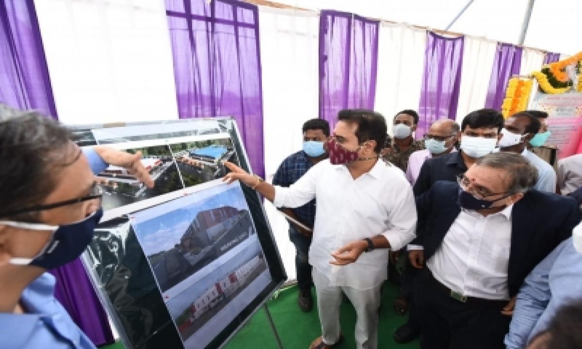 T'gana Minister Lays Foundation Stone For Gokaldas Apparel Factory-General-English-Telugu Tollywood Photo Image-TeluguStop.com