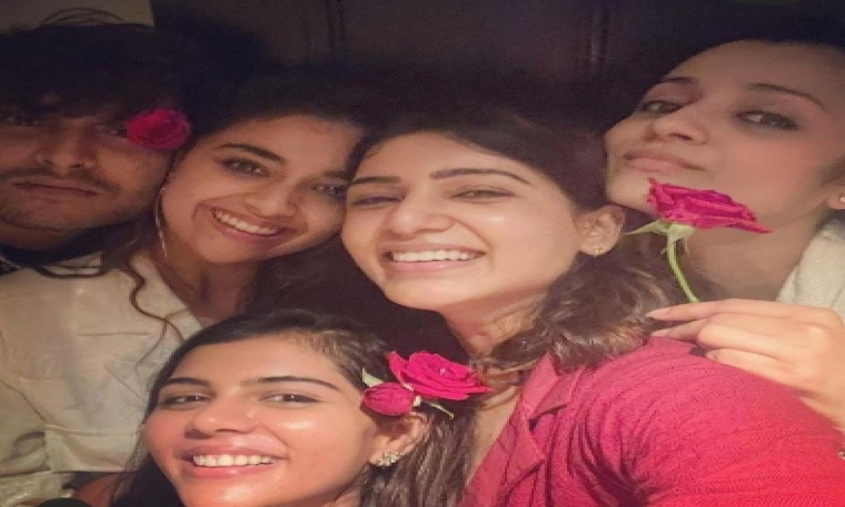 This Is Samantha-style 'girl Bonding'-TeluguStop.com