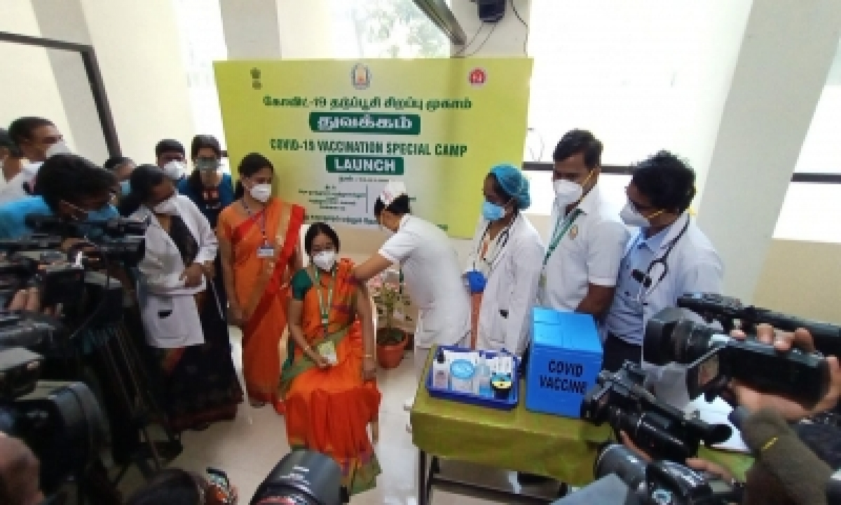Tn Heads Of Hospitals Lead By Example In Taking The Vax Shot-TeluguStop.com