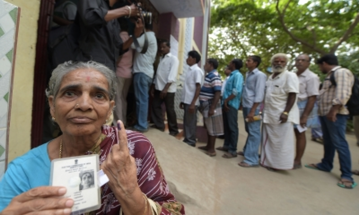 Tn Sees 72% Turnout, Puducherry 82% As Curtains Come Down On Polls (intro Roundup)-TeluguStop.com