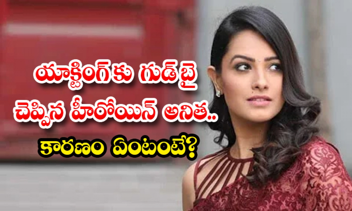 Tollywood Actress Anitha Says Good Bye To Acting-యాక్టింగ్ కు గుడ్ బై చెప్పిన హీరోయిన్ అనిత.. కారణం ఏంటంటే-Latest News - Telugu-Telugu Tollywood Photo Image-TeluguStop.com
