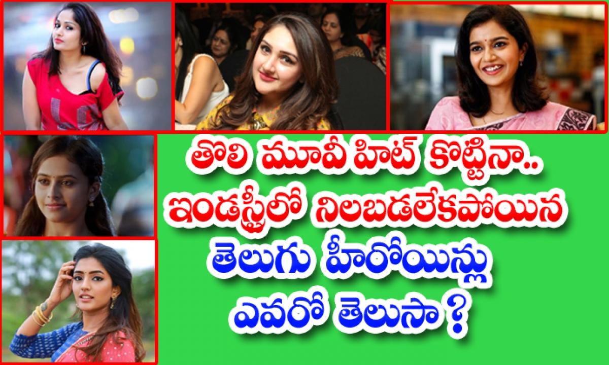 Tollywood Heroines Career Unknown Facts-తొలి మూవీ హిట్ కొట్టినా.. ఇండస్ట్రీలో నిలబడలేకపోయిన తెలుగు హీరోయిన్లు ఎవరో తెలుసా-Latest News - Telugu-Telugu Tollywood Photo Image-TeluguStop.com
