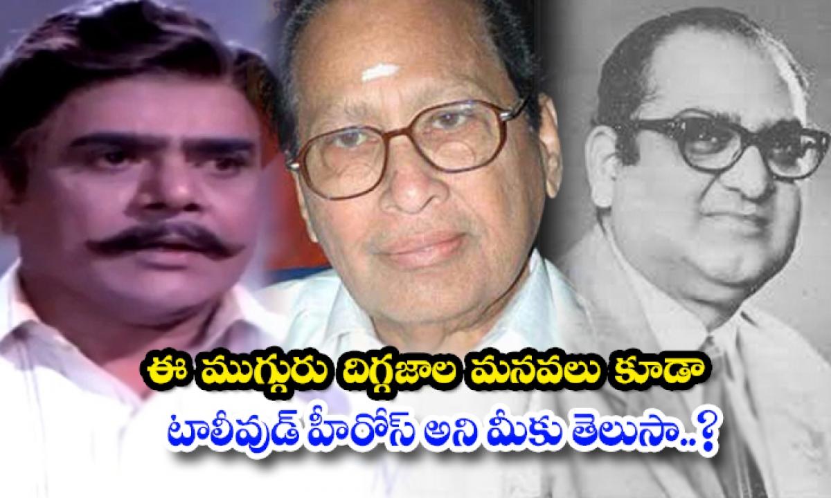 These Legends Grand Sons Also Tollywood Actors-ఈ ముగ్గురు దిగ్గజాల మనవలు కూడా టాలీవుడ్ హీరోస్ అని మీకు తెలుసా..-Latest News - Telugu-Telugu Tollywood Photo Image-TeluguStop.com