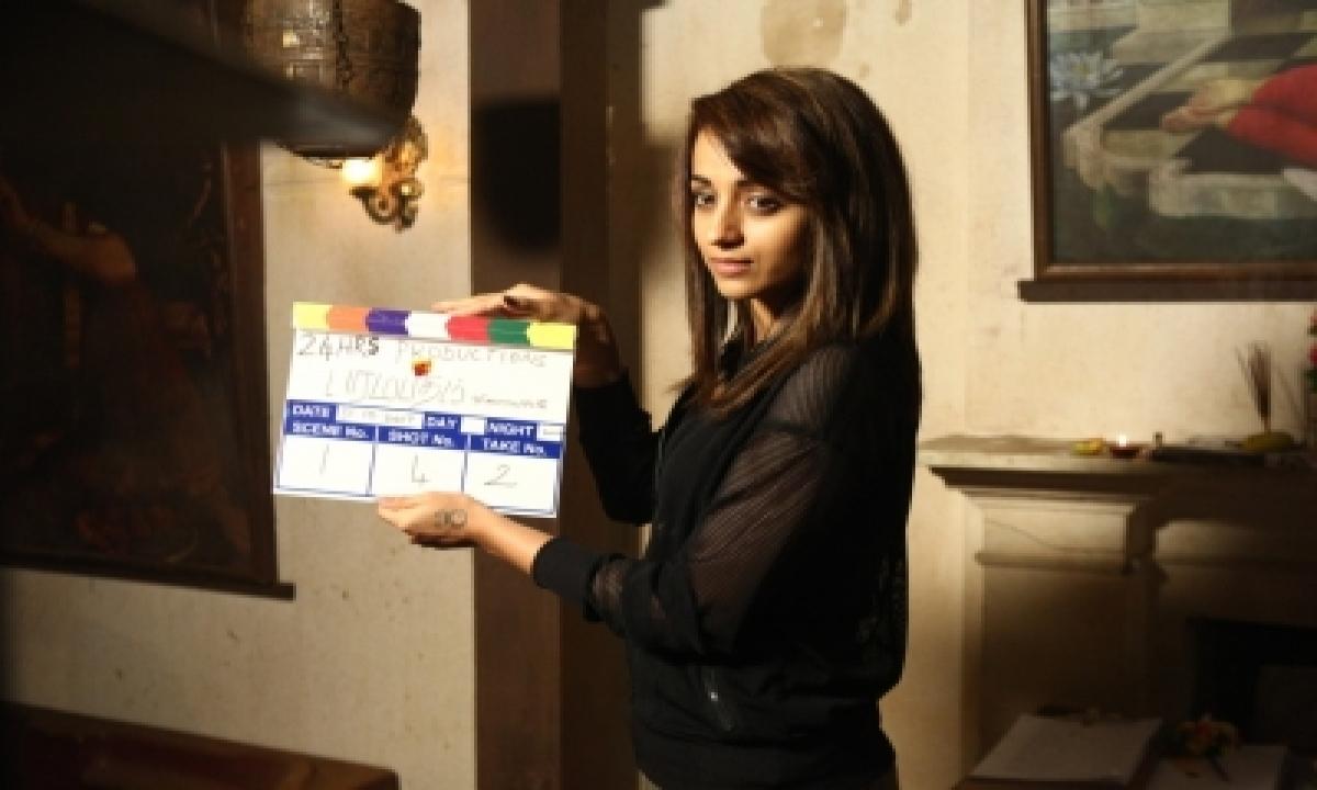 Trisha's 'paramapadham Vilayattu' To Release On Tamil New Year-TeluguStop.com