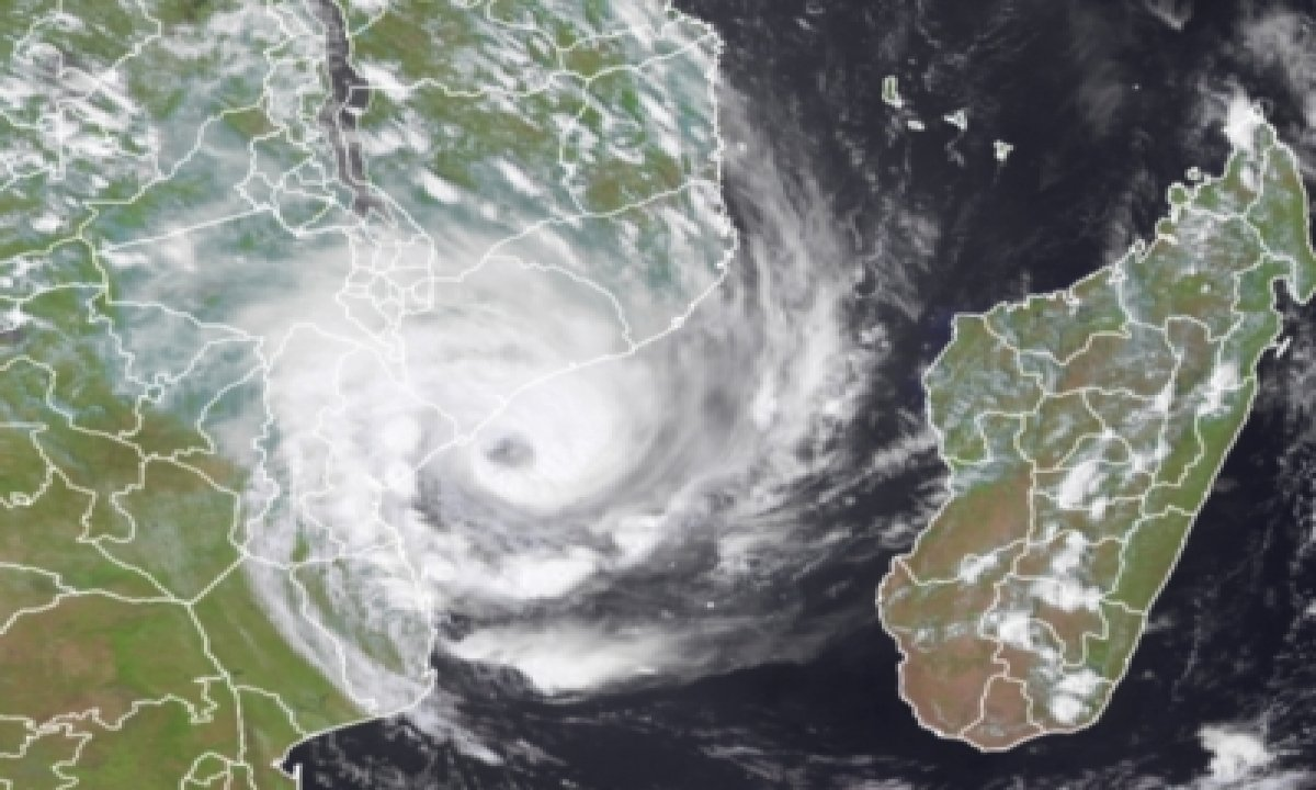 TeluguStop.com - Tropical Storm Eloise Makes Landfall In Mozambique