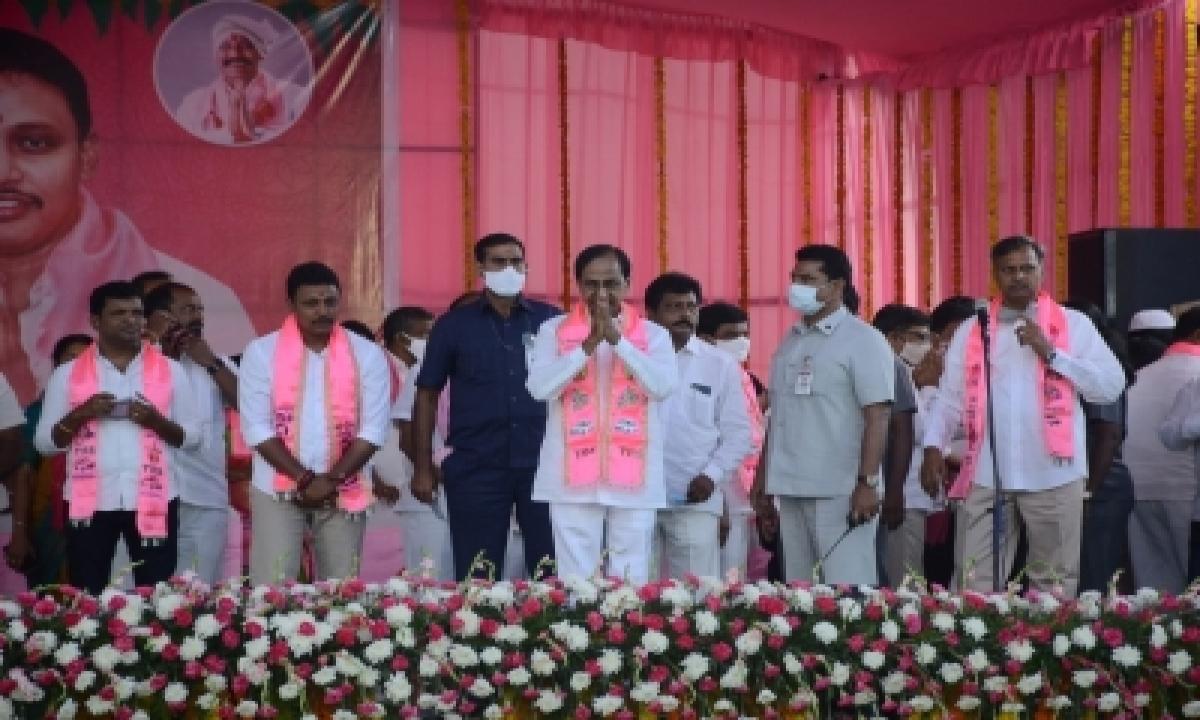 Trs Consolidates Lead In Nagarjuna Sagar Bypoll (ld)-TeluguStop.com