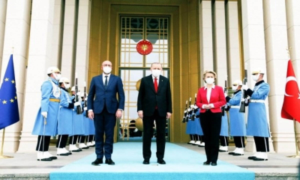 Turkey Denies It Snubbed Eu Chief During Ankara Visit-TeluguStop.com