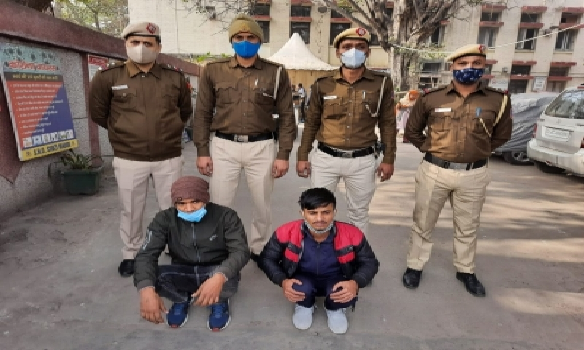 TeluguStop.com - Two Held For Cheating 70-yr-old In Delhi
