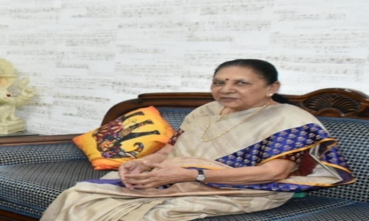 Up Governor Anandiben Patel On A Two-day Visit Of Gujarat-TeluguStop.com