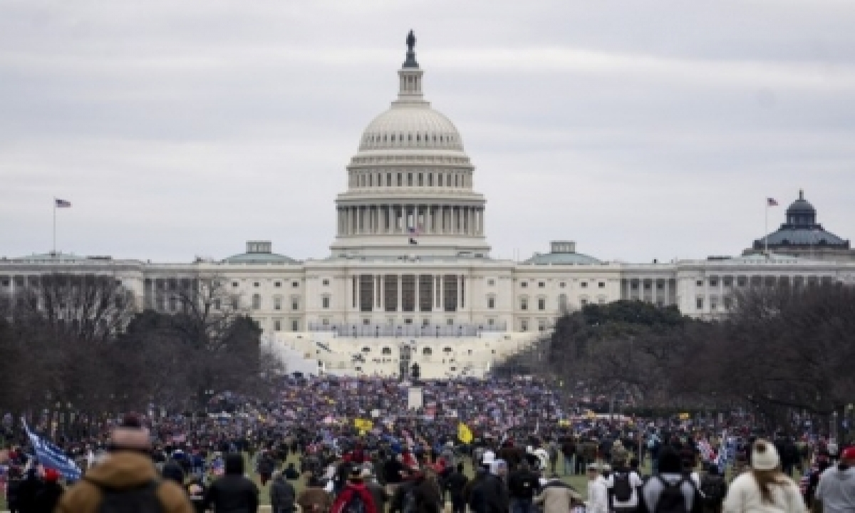 Us Justice Department Watchdog Launches Probe Into Capitol Riot-TeluguStop.com