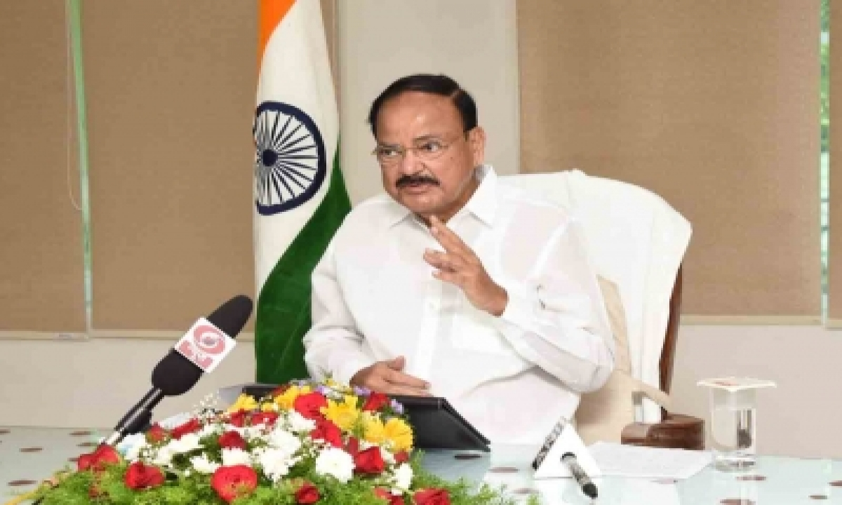 V-P Naidu Calls For More Academia-industry Interface To Address Challenges-Latest News English-Telugu Tollywood Photo Image-TeluguStop.com